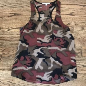 Collective Concepts camo t back tank